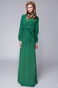 Yeşil Gömlek Elbise