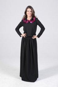 Pul Detaylı Keyif Elbise