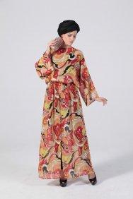 Kış Renkleri Tunik Elbise