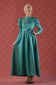Mavi Prenses Elbise