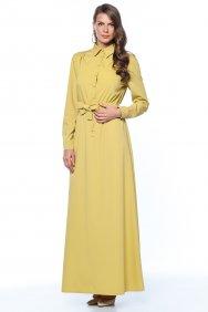 Sarı Gömlek Elbise