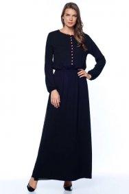 Jennifer Siyah Gömlek Elbise