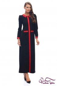 Jasmine Siyah-Kırmızı Elbise