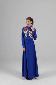 Saks Patchwork Elbise