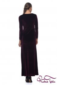 Alice Bordo Kadife Elbise