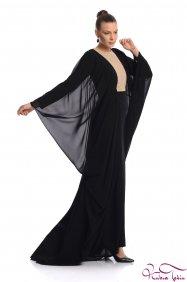 Elizabeth Siyah Elbise