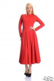 Hira Kırmızı Elbise