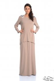 Tahseen Vizon Elbise