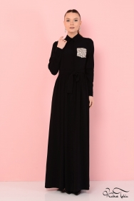 Özge Siyah Elbise