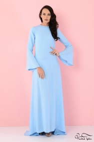 Kuğu Mavi Elbise