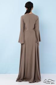 Kuğu Vizon Elbise