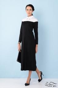 Duru Siyah Beyaz Elbise