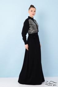 Penelope Gümüş Elbise