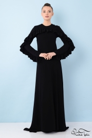 Loveless Siyah Elbise