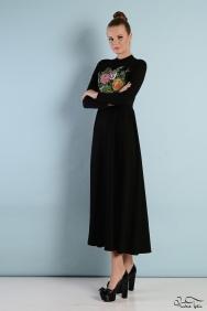 Molly Nakış İşlemeli Elbise