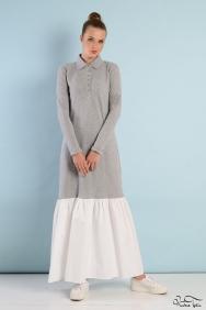 Roos Fırfırlı Elbise