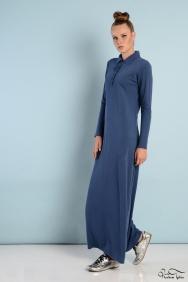 Roos Mavi Elbise