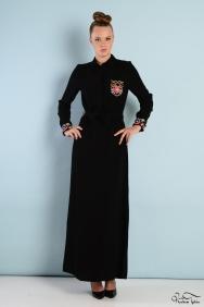Penelope Cep ve Manşet Detaylı Elbise