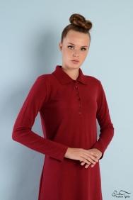 Roos Kırmızı Elbise