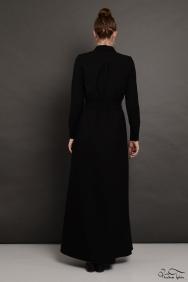 Penelope Siyah Lara Elbise