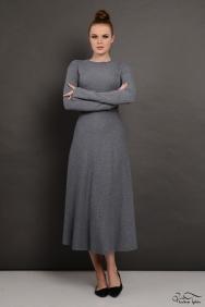 Molly Gri Triko Elbise