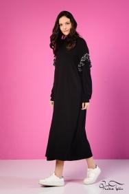 Nolita Siyah Triko Elbise