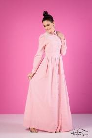 Yasemin Pembe Elbise