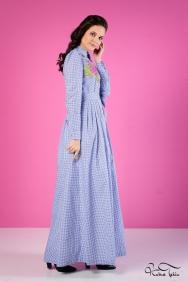 Yasemin Mavi Elbise