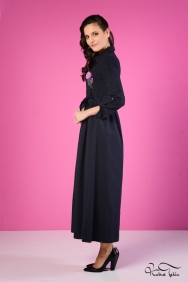 Beliz Lacivert Elbise