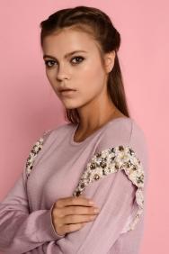 Nolita Lila Triko Elbise