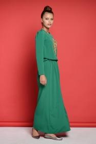 Olivia Yeşil Elbise