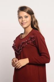 Nolita Bordo Triko Elbise