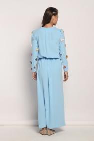 Olivia Bebe Mavi Elbise