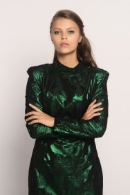 Marcelly Jakar Yeşil Elbise
