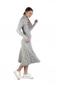 Şule İşleme Detaylı Örme Elbise