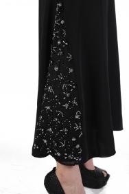Sezen Etek İşlemeli Elbise