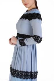 Kumru Mavi Elbise