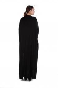 İşlemeli Pelerin Elbise