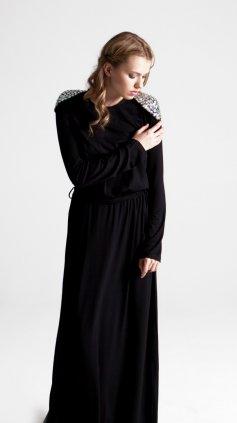 Diamond Maksi Elbise KT 1007