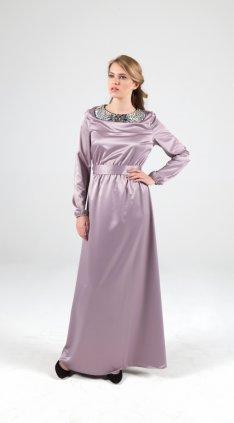 Lilac Diamond Maksi Elbise