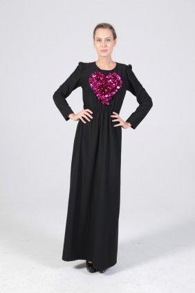 Pembe Kalpli Keyti Elbise