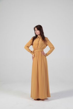 Penelope Hardal Gömlek Elbise