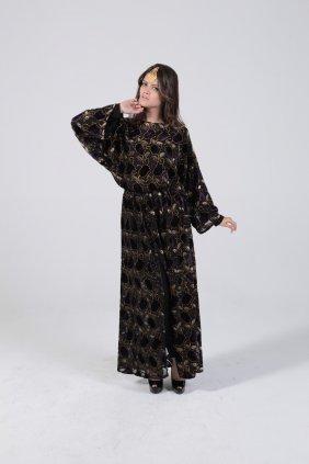 Osmanlı Motifli Tunik Elbise