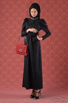 Siyah Prenses Elbise