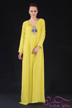 Bella Sarı Elbise