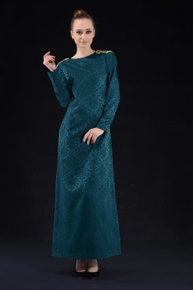 Ashley Yeşil Elbise