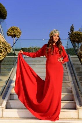 Stella Kırmızı Elbise
