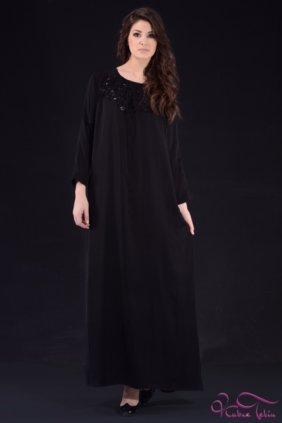 Bella Siyah Elbise