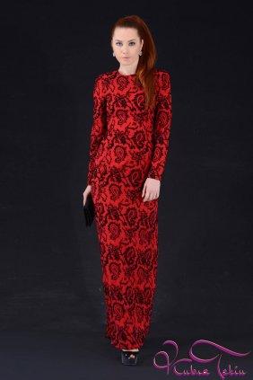 Angelina Kırmızı Elbise