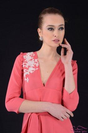 Lui Nar Çiçeği Elbise